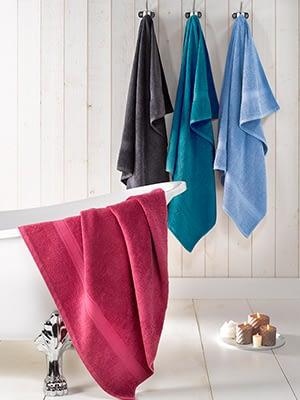 badhanddoeken in diverse kleuren de witte lietaer