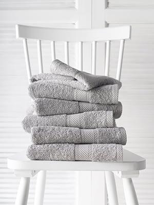 grijze badhanddoeken de witte lietaer