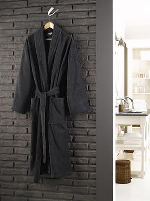 zwarte badjas de witte lietaer